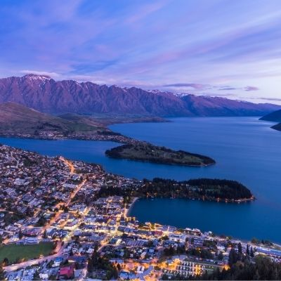 Queenstown Air New Zealand