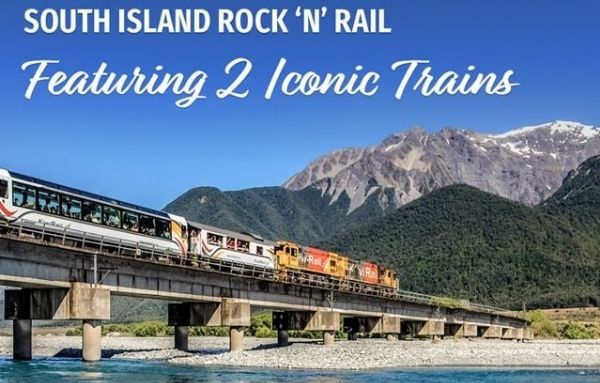 Ready to Rock 'n' Rail the South Island
